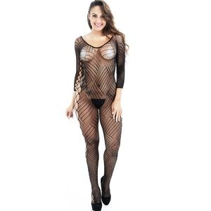 Sexy Bodysuit Hot Erotic Sheer Bodystocking